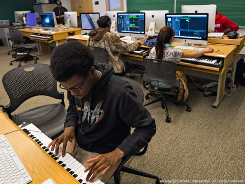 Electronic Music Classroom - De Anza College