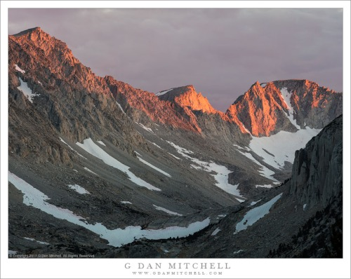 Alpenglow, Ridge and Valley