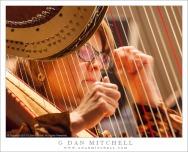 Harpist Karen Thielen