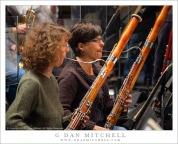 Bassoonists Deborah Kramer and Carolyn Lockhart
