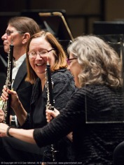 Oboists Pamela Hakl and Patricia Mitchell