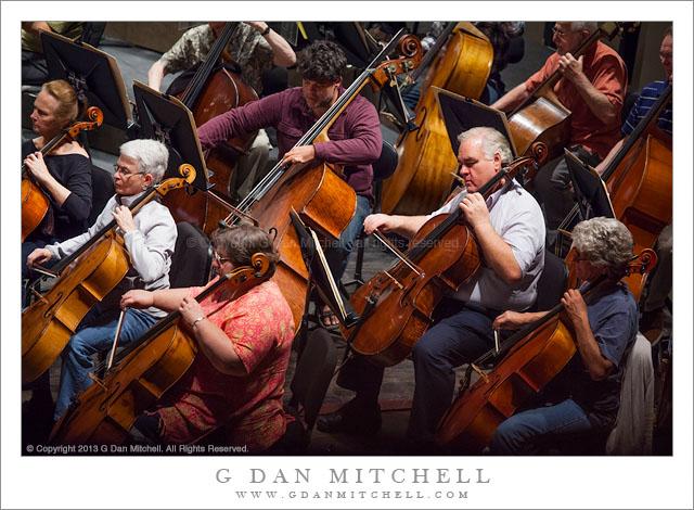 Low Strings, Rehearsal