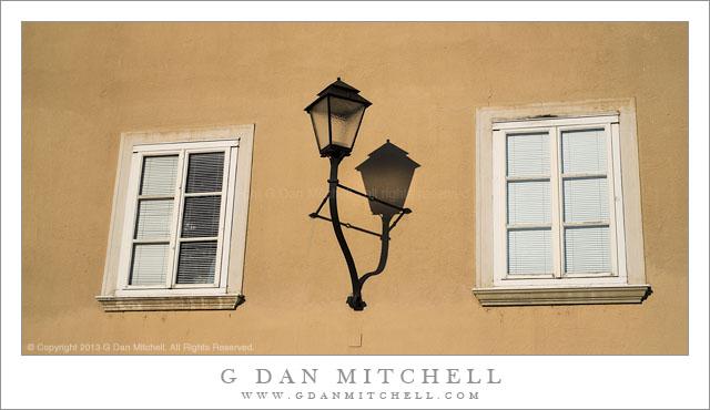 Windows, Lamp, Shadow