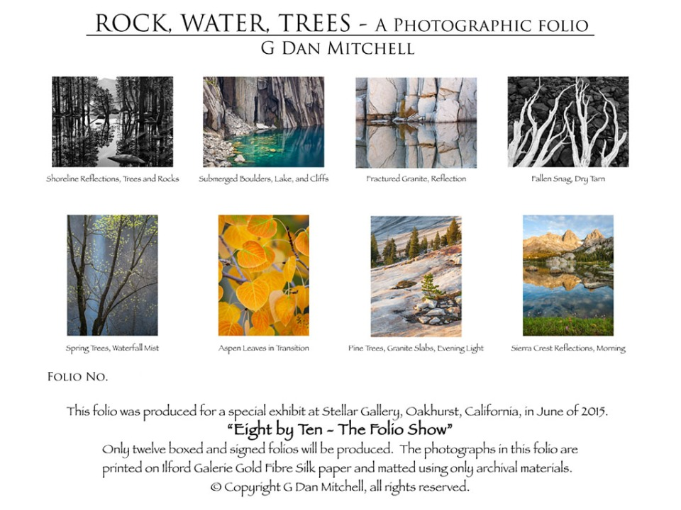 Rock, Water, Trees — A Photographic Folio