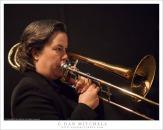 Trombonist. © Copyright G Dan Mitchell.