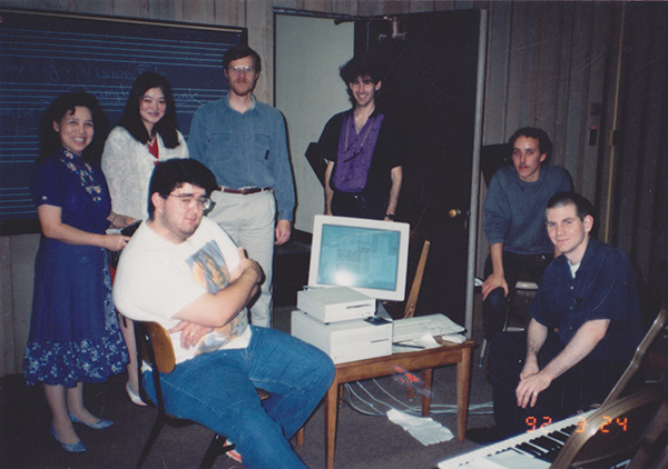 De Anza Electronic Music Students, 1992