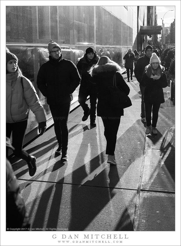 Pedestrians, Lexington Avenue
